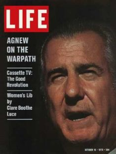 agnew on the warpath