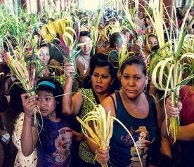 Palm Sunday El Salvadore