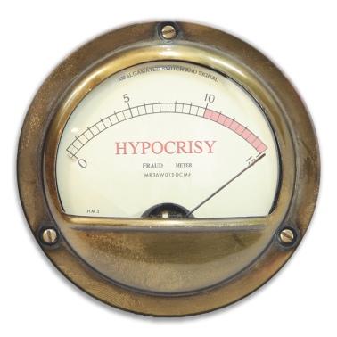 hypocrisy meeter