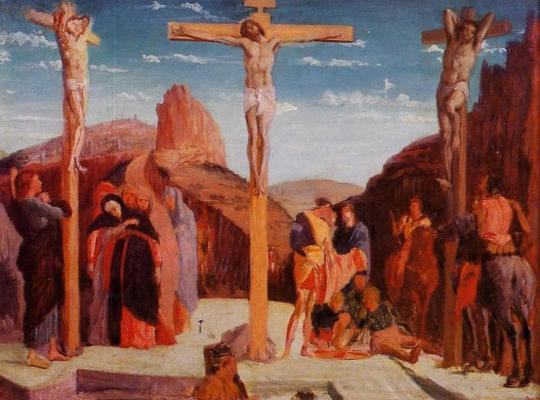 the-crucifixion-after-mantegna-1861