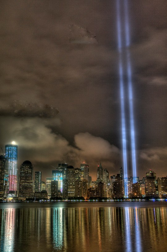 911 New York lights